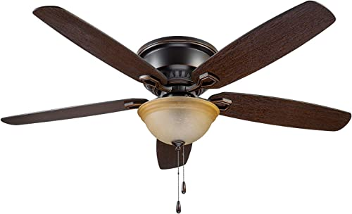 Prominence Home 90200-01 Hemlock Ceiling Fan, 58, Oil Rubbed Bronze