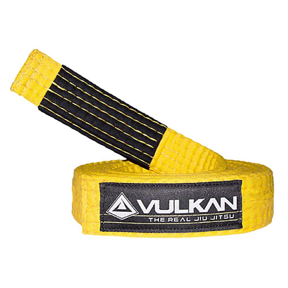 Vulkan Fight Company Brazilian Jiu Jitsu, BJJ Kids Belt for Martial Arts Sports, Yellow, A1 by Vulkan