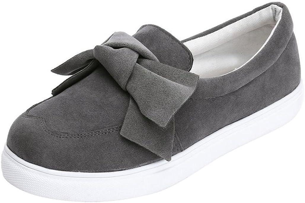 Zapatillas de Vestir para Mujer Otoño PAOLIAN Calzado de Dama Planos Zapatos Escolares Casual Terciopelo Espadrilles Cómodos Senderismo Moda Calzado de Trabajo Deporte