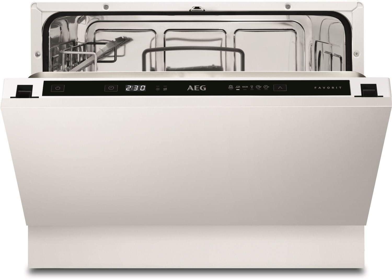 AEG FSE21200P - Lavavajillas empotrable compacto con ...