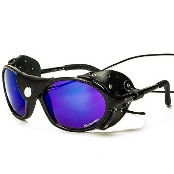 Lunettes noires daisan bergsteigerbrille avec cat. 4 verres NG8F9