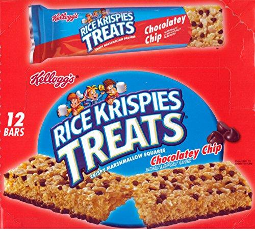 Kelloggs Rice Krispies Treats Chocolatey Chip 2.9 Oz - 12 (Big) Bar