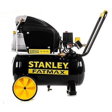 Stanley – Compresor de aire Lubrifié 24L 2,5Hp 1,8 kW 10 bar