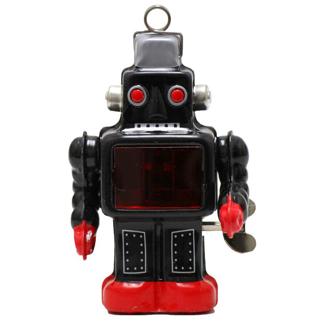 Burekiya Vintage Retro Tin Wind-up Toy - Two Sparkling Robot Set by Burekiya (Image #6)