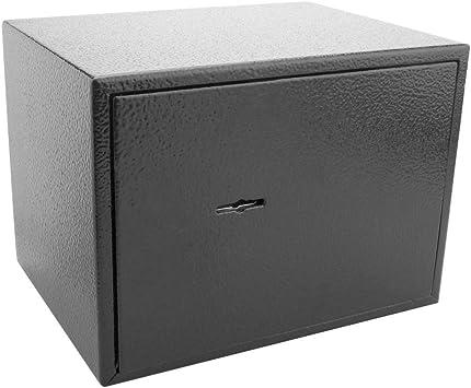 PrimeMatik - Caja Fuerte de Seguridad de Acero y con Llaves 19 x ...