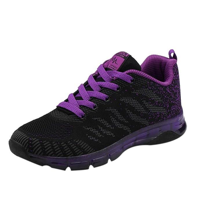 ZODOF Flying Woven Shoes Air Cushion Sneakers Student Net Calzado de Running: Amazon.es: Ropa y accesorios