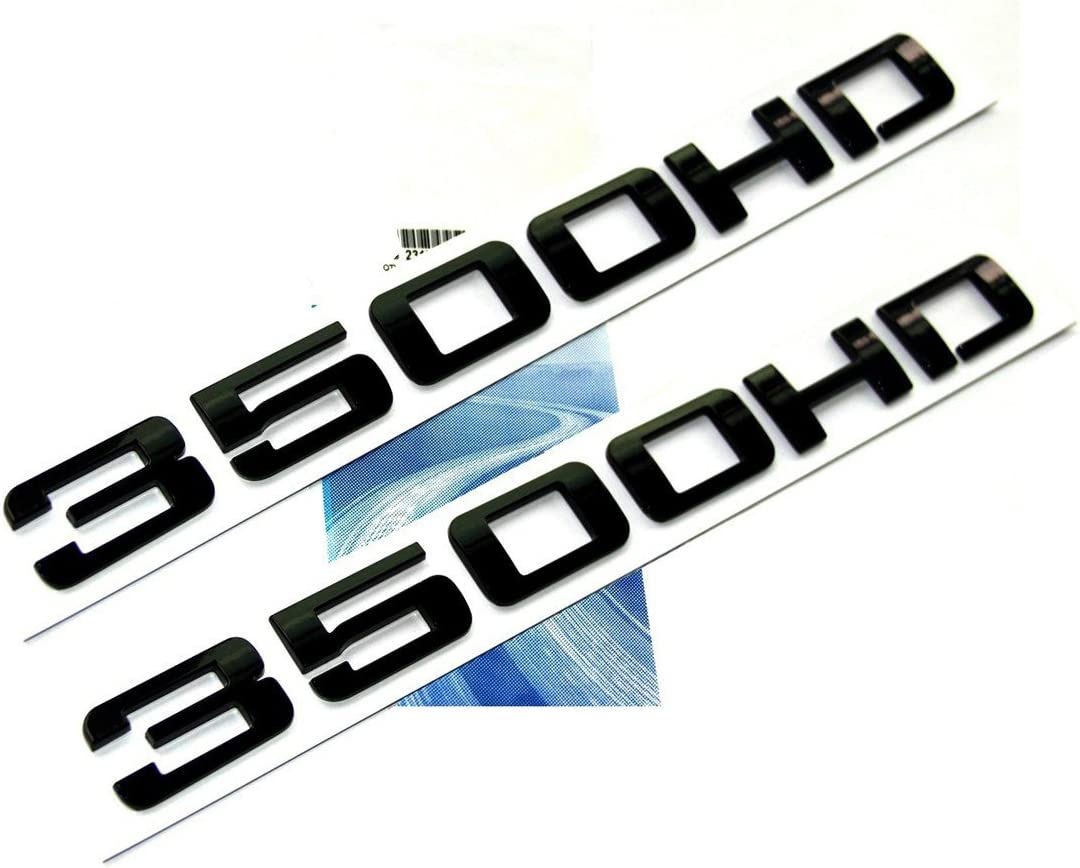 Yoaoo/® 1pcs OEM Chrome 3500HD 3500 HD Nameplate Emblem Badge Alloy for Gm Silverado Sierra 1x