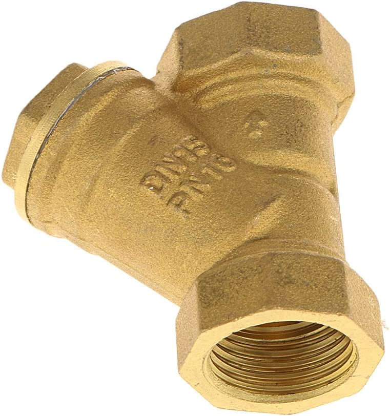 LOVIVER DN15 DN20 DN2 DN32 Messing Y Typ Sieb Filter Ventil Weiblich Wasser DN15