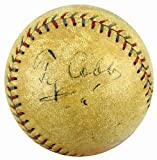 Ty Cobb Signed Autograph Official AL Baseball Detroit Tigers - JSA Certified