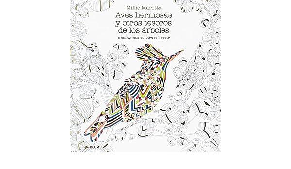 Aves hermosas y otros tesoros de los árboles: Millie Marotta ...