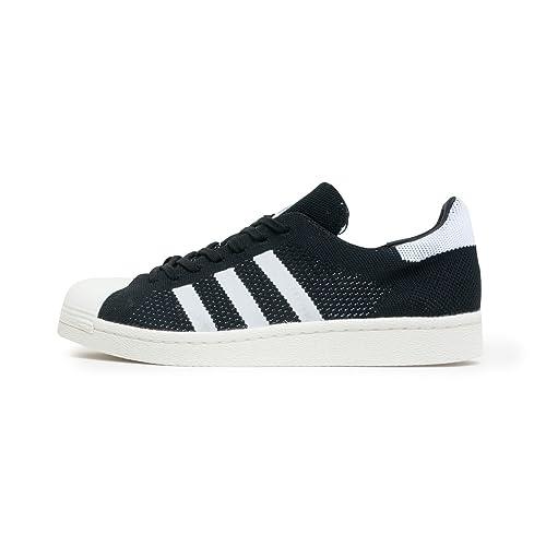 Zapatillas adidas - Superstar Pk blanco/negro/blanco talla: 43-1/3: Amazon.es: Zapatos y complementos