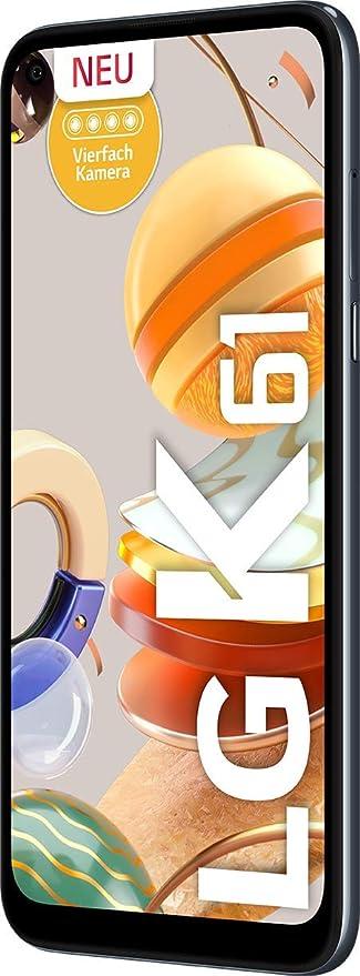Lg K61 Smartphone 128 Gb 6 53 Zoll Titan Elektronik