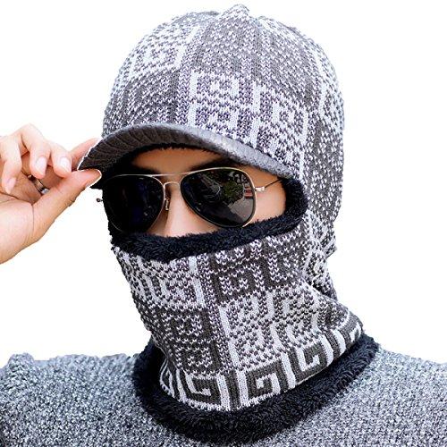 Unisex Para Esquí Black Hombre Del A Máscara Viento Aleta De Para De Invierno Ushanka Oído Caliente De Bombardero Prueba Sombrero Patinaje Senderismo xFYwqS8P