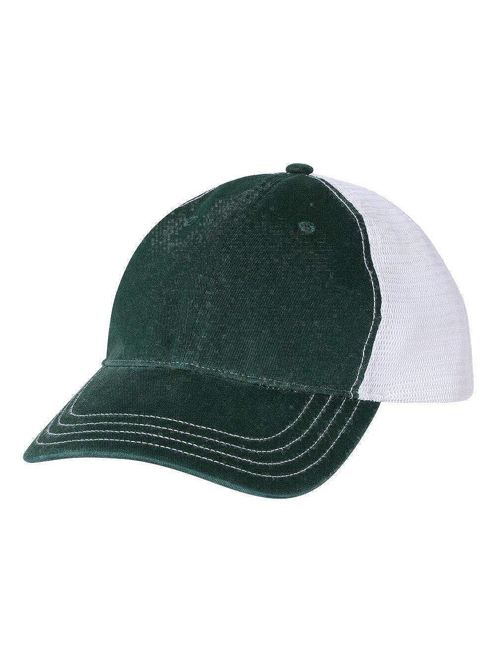 7178d05fd0f05 Amazon.com  Richardson Cap Adult Unisex 111 Garment Washed Front Mesh Back  Caps  Clothing