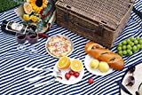 INNO STAGE Wicker Picnic Basket for 2, Picnic Set