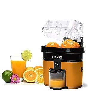 Exprimidor doble electrico citricos zumos exprimidora duo zumo naranjas limones: Amazon.es: Hogar