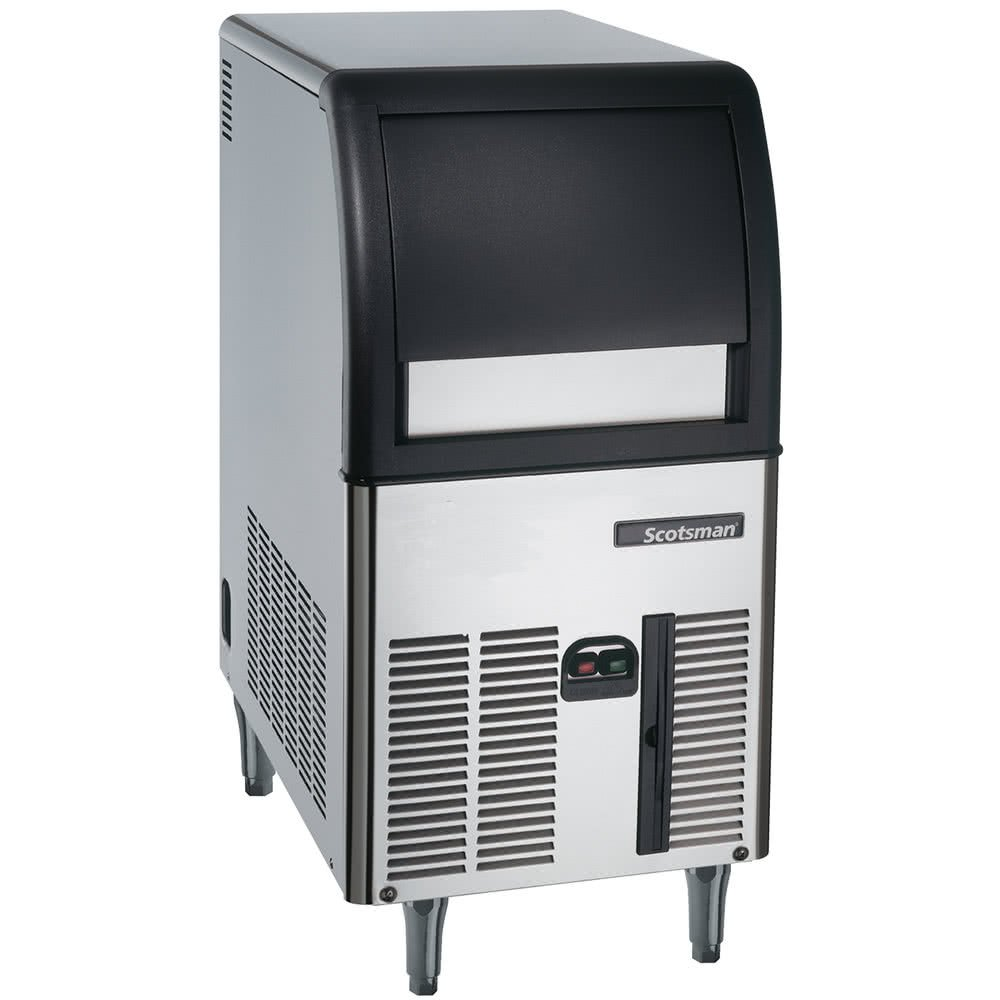 Scotsman CU0515GA Self Contained Gourmet Ice Maker, Air Condenser, 84 lb. Production, 24 lb. Storage