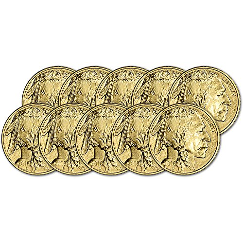 2018 American Gold Buffalo (1 oz) Ten Coins Brilliant (Uncirculated Gold Buffalo)