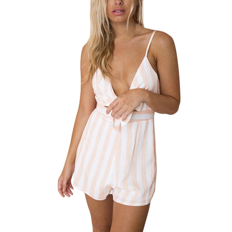huge discount 37ae2 f2b1a dauerhafte Modellierung Btruely Jumpsuit Damen Kurz Elegant ...