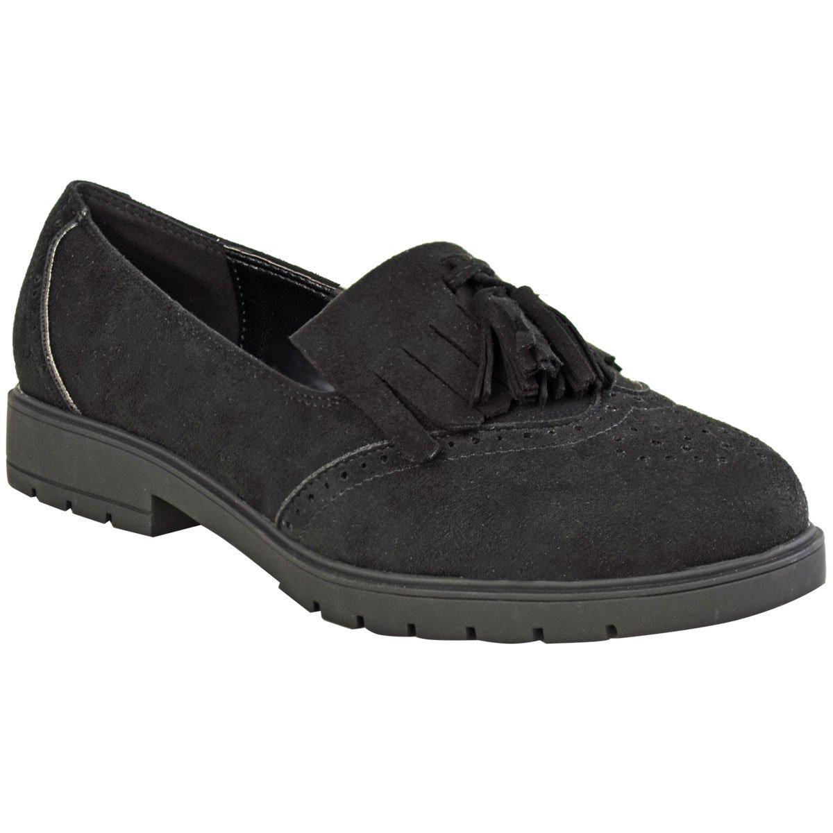 Dames Plat Décontracté Femmes Thirsty Fashion Chaussures reQdoCxBW