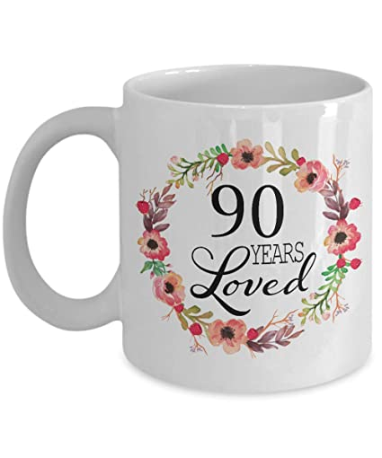 Image Unavailable Not Available For Color 90th Birthday Gifts Women