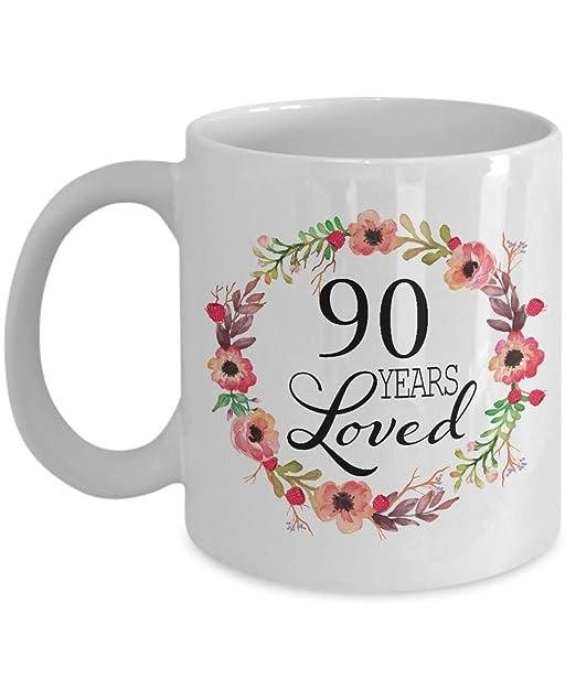 Amazon.com: Regalos de 90 cumpleaños para mujer – Regalo ...