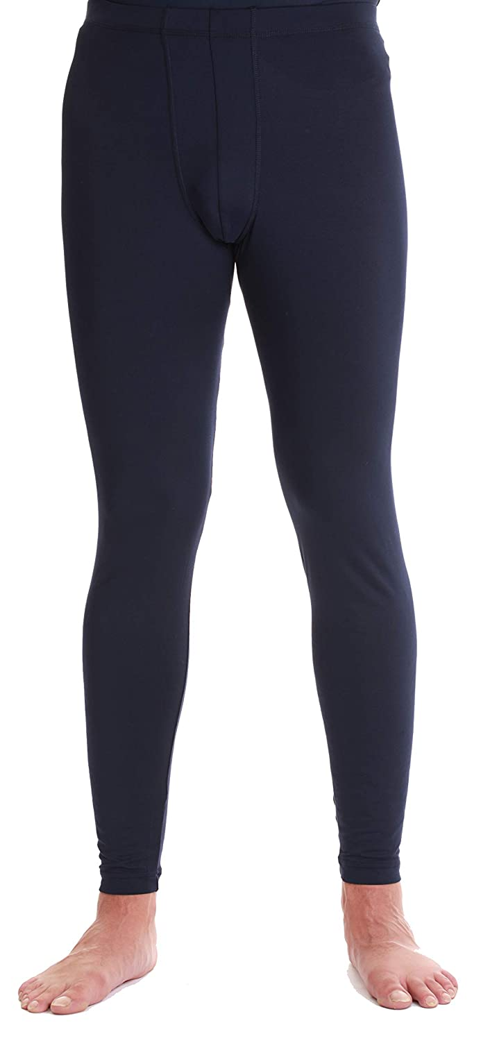 At The Buzzer Men/'s Performance Thermal Pants Moisture-Wicking Base Layer Leggings