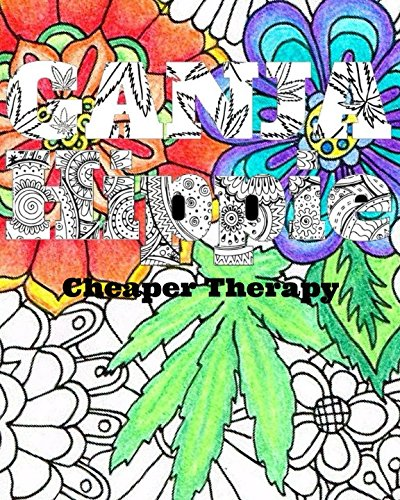 Ganja-Hippie-Cheaper-Therapy-Mandalas-coloring-book-for-adults-stress-relief