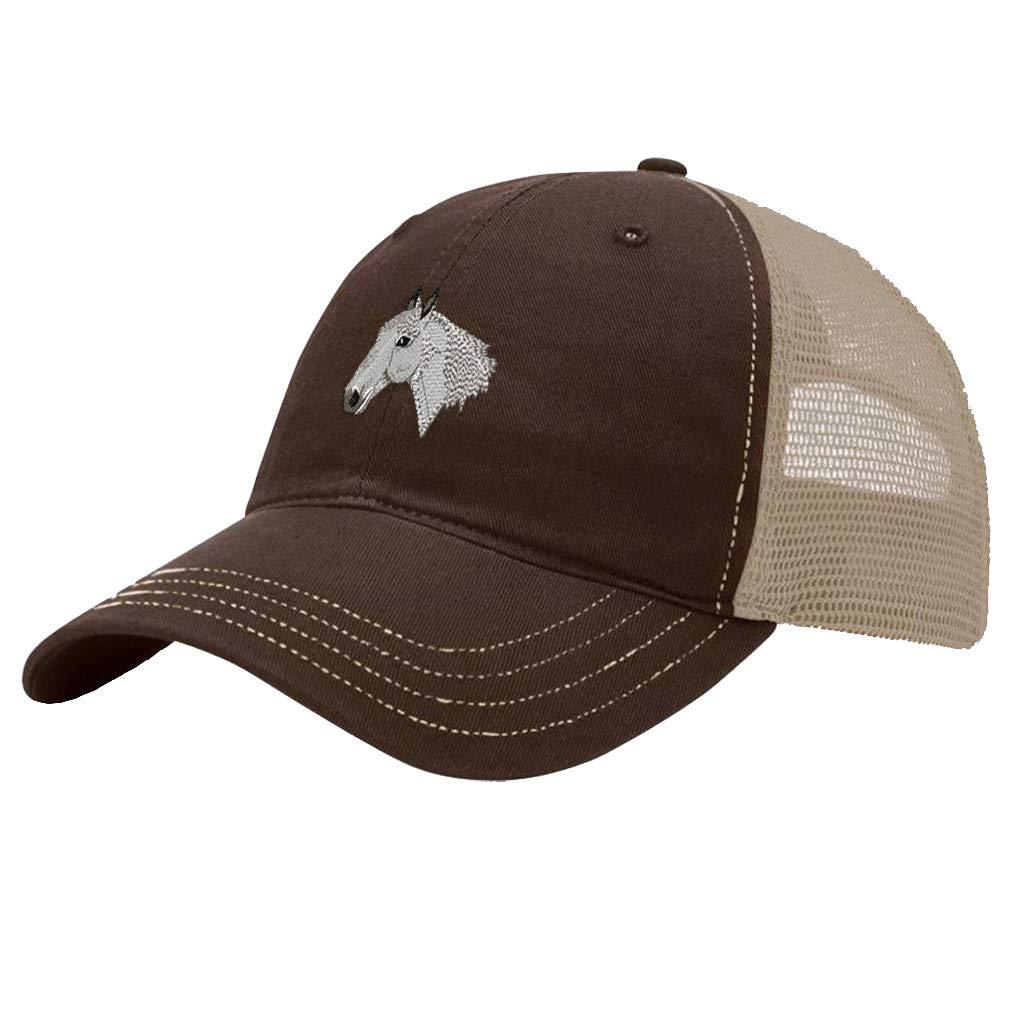 Custom Trucker Hat Richardson Lipizzaner Embroidery Animal Name Cotton Snaps