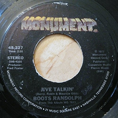 Blueberry Hill/Jive Talking (45 RPM record)