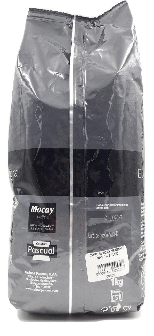 Mocay caffè Etiqueta Negra café en grano Natural Vending 1 kg Selección: Amazon.es: Alimentación y bebidas