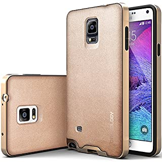 detailed look 34c8b 8ccf9 Galaxy Note 4 Case, Caseology® [Envoy Series] Premium Leather Bumper ...
