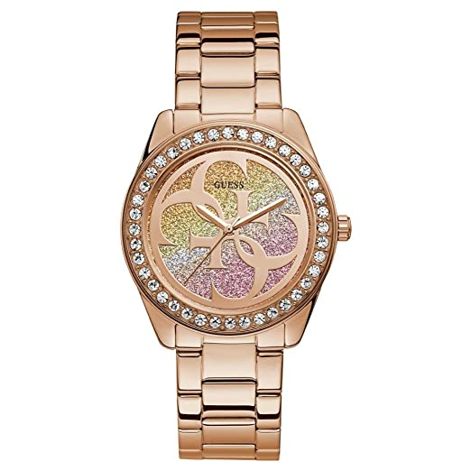 Amazon.com: Guess G Twist W1201L3 Reloj analógico de cuarzo ...