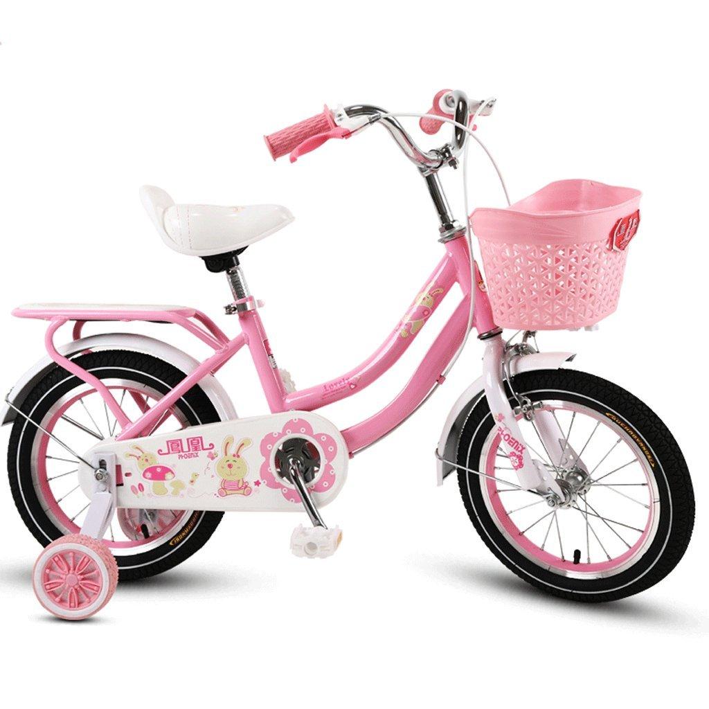 子供の自転車ベビーベビーカー2-12歳の少女サイクリングボーイ18インチキッズバイク (色 : C, サイズ さいず : 16 inches) B07D3RKM19 16 inches|C C 16 inches