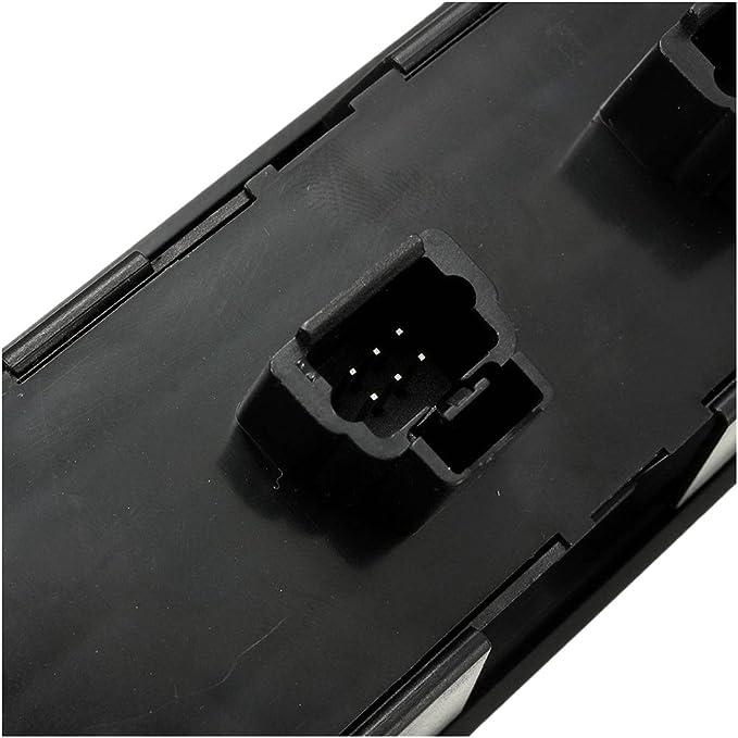 REFURBISHHOUSE Interruptor de Elevador de Control para la Ventana electrica Adecuado para Peugeot 307 307CC 307SW