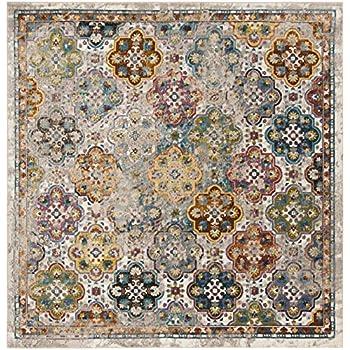 Amazon Com Safavieh Aria Collection Premium Wool Square
