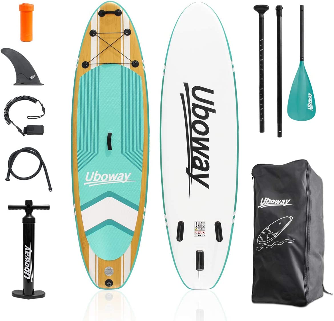 uboway budget inflatable paddle board