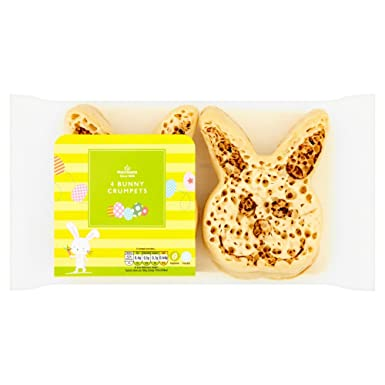 Morrisons easter bunny crumpets amazon grocery morrisons easter bunny crumpets negle