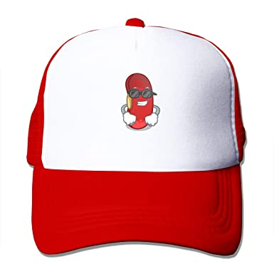 Trucker Red Bean In The Cartoon Bowl - Gorra de béisbol de algodón ...