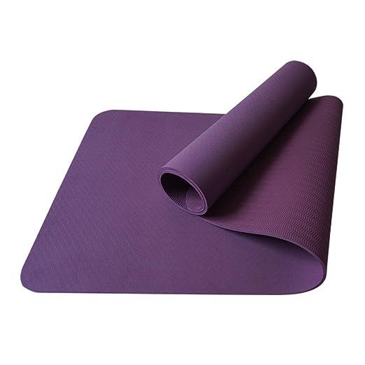 Wenzhihua Estera de Yoga Estera de la Yoga Mat / TPE8mm ...