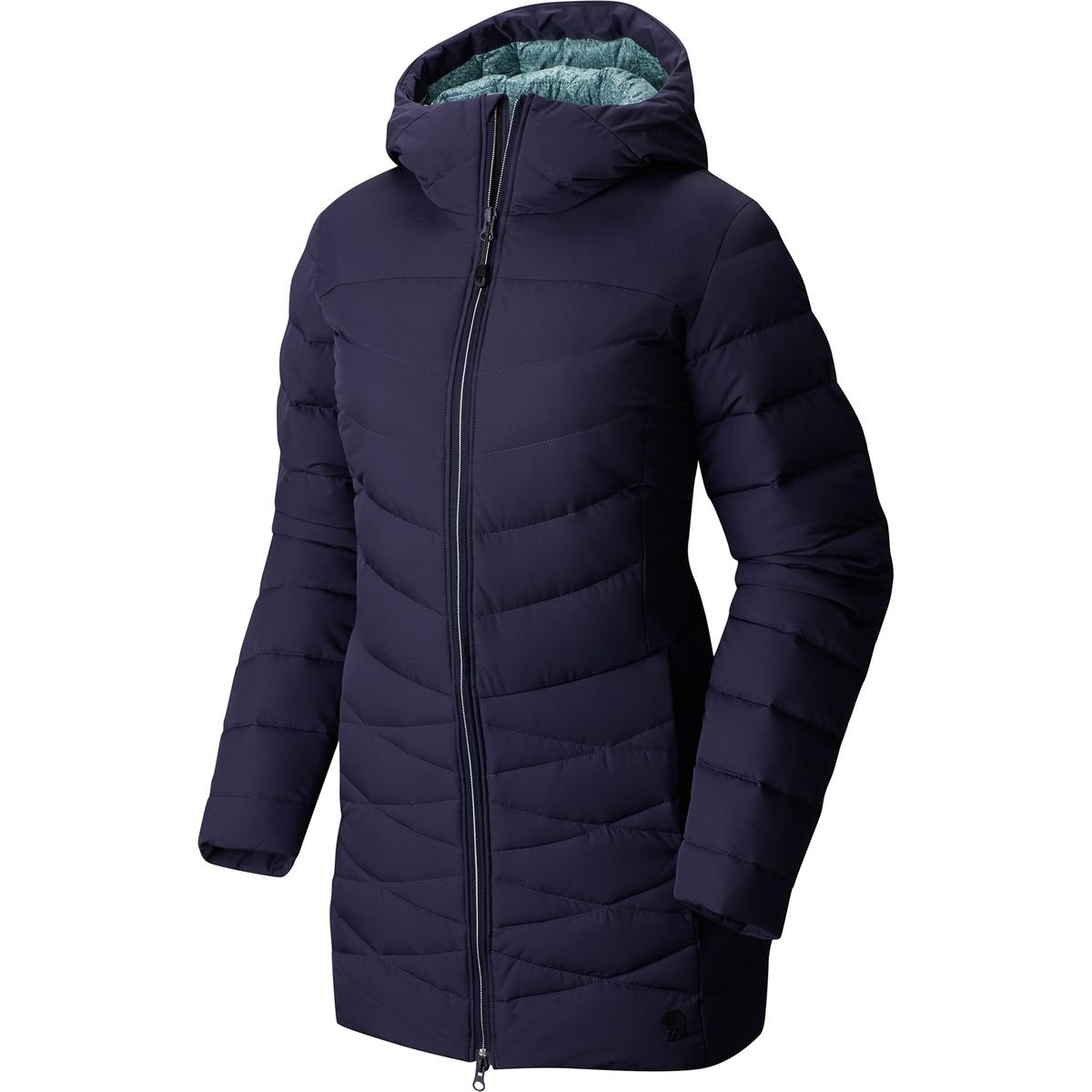 3E0G Mountain Hardwear Womens Downtown Coat Black Discounted Price Products Hot Sale