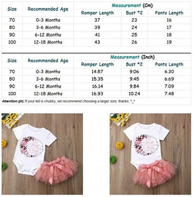 Preciashopping US Summer Toddler Baby Kids Girls Floral Romper Bodysuit Jumpsuit Outfit Clothes