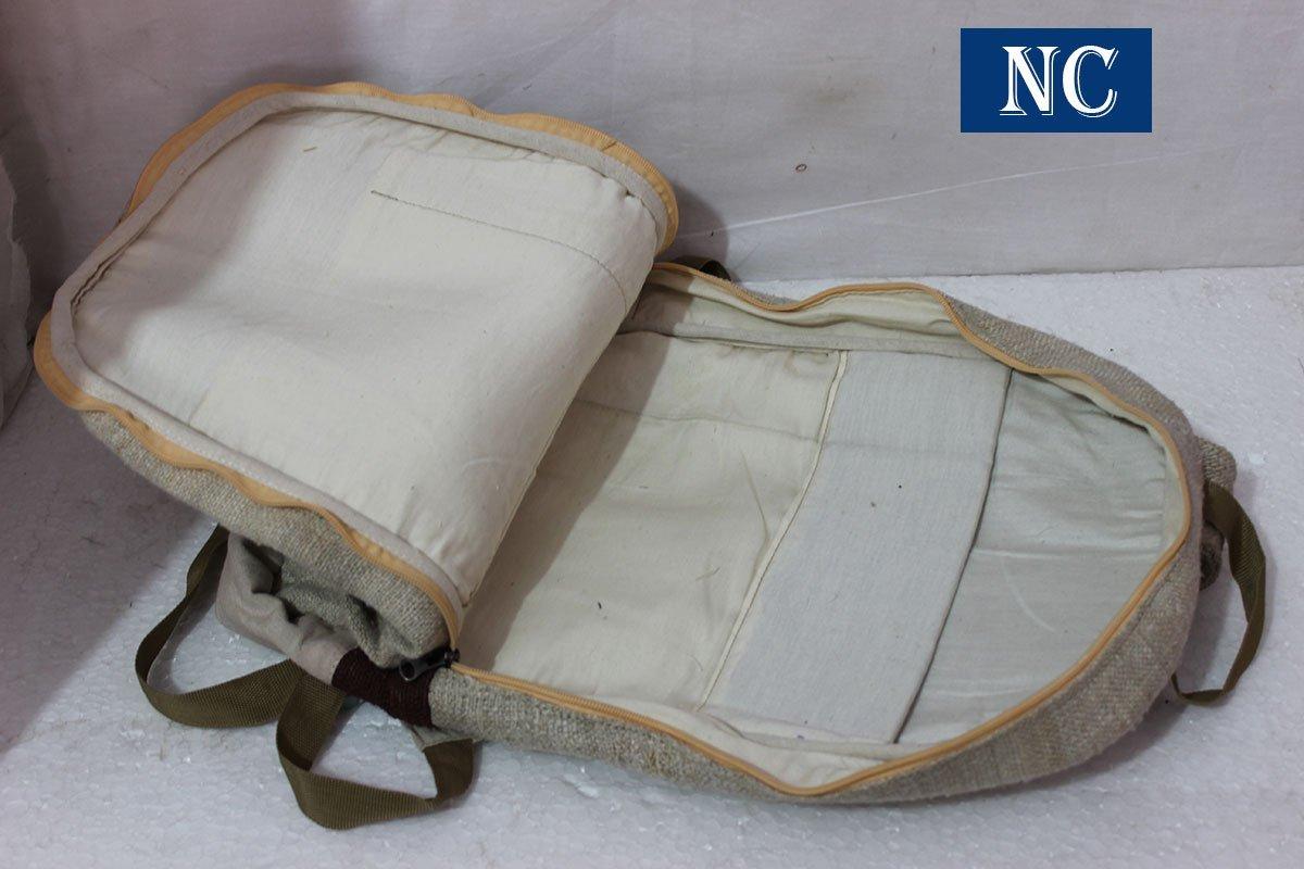 100% hecho a mano de Cáñamo himlayan mochila (THC libre) con ...