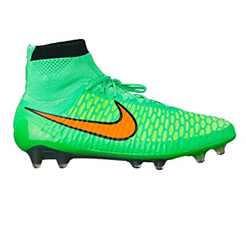 nouveau concept c17c6 644f5 NIKE Magista Obra FG Crampons de football (Poison vert/noir ...