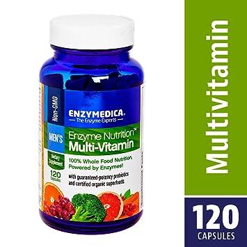 Enzymedica - enzima nutrición Varonil multi-vitamina - 120 cápsulas vegetarianas: Amazon.es: Salud y cuidado personal