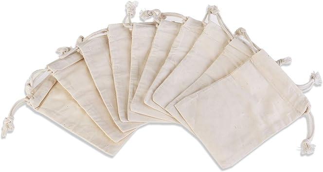 Rosenice - Bolsa de regalo para joyas, bolsa de algodón con ...