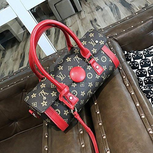 Ljiang Im Frühling Und Sommer Personalisierte Mode Handtaschen, Qualität, Einfache Im Ranzen, Einem Kissen.,Schwarz