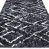 LOCHAS Moroccan Collection Shag Area Rug for