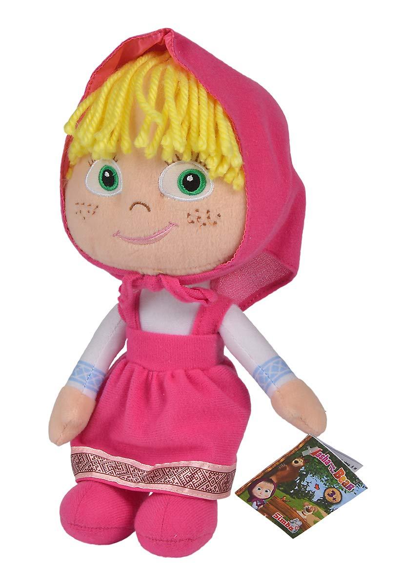 Amazon.com: Simba 109301065 Masha - Oso de muñeca (9.8 in ...