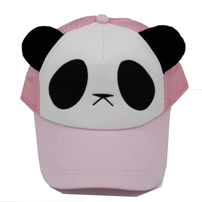 BenKPooaK Summer Cartoon Panda Net Cap Cotton Mesh Baseball Cap 5 Panel Casquette Snapback Gorras Sunhat